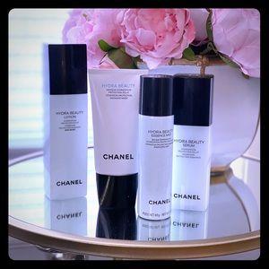 Chanel 4 piece Hydra Beauty Set